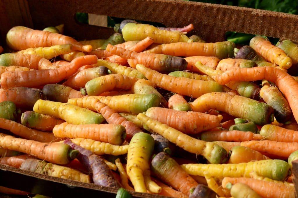 Speciality carrots